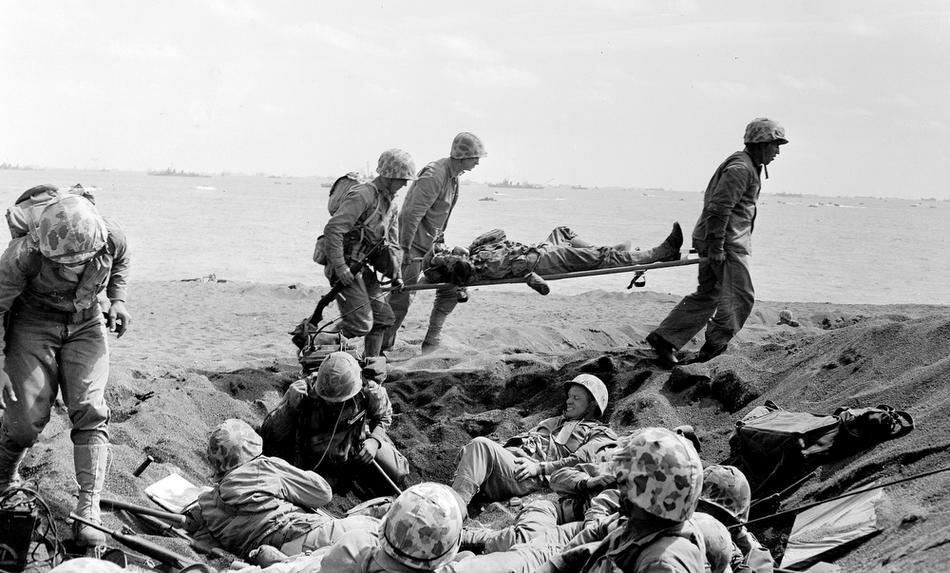 Japan Iwo Jima Marine