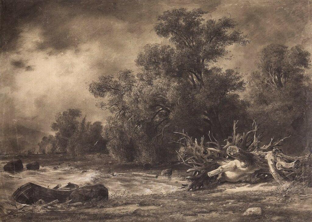 Дубки под Сестрорецком. 1857 48х66,3.jpg
