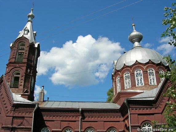 Спасо-Преображенский храм Воткинска
