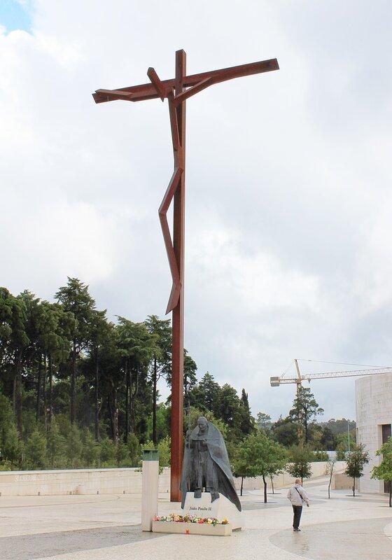 Фатима. Церковь Святой Троицы. Fatima. Basílica da Santíssima Trindade