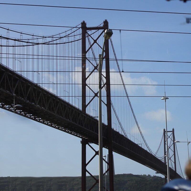 Ponte 25 de Abril. Lisbon, Bridge named after him. April 25