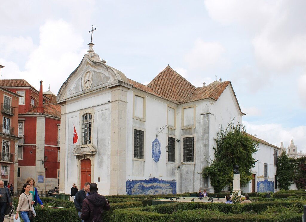 Church of Santa Luzia (Igreja de Santa Luzia), Lisbon, Лиссабон