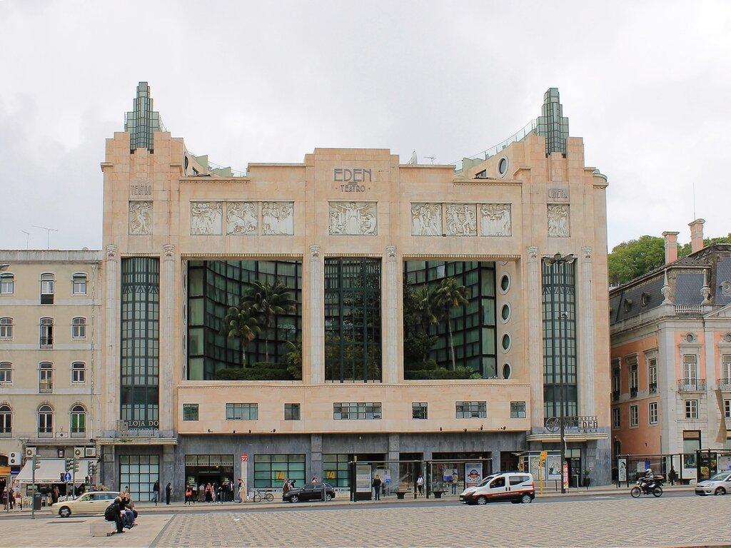 Лиссабон. Кинотеатр Эдем (Eden teatro)