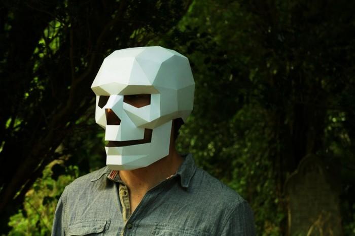 DIY-геометрические маски, которые выделят Вас из толпы на любой вечеринке (8 фото)