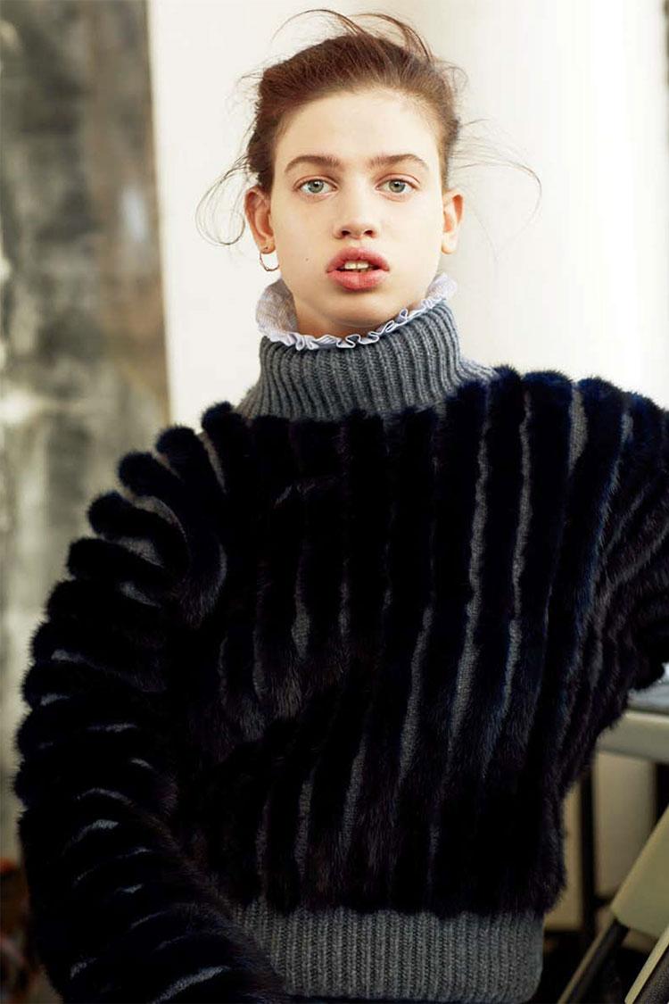 Лили МакМенами в журнале Numero China