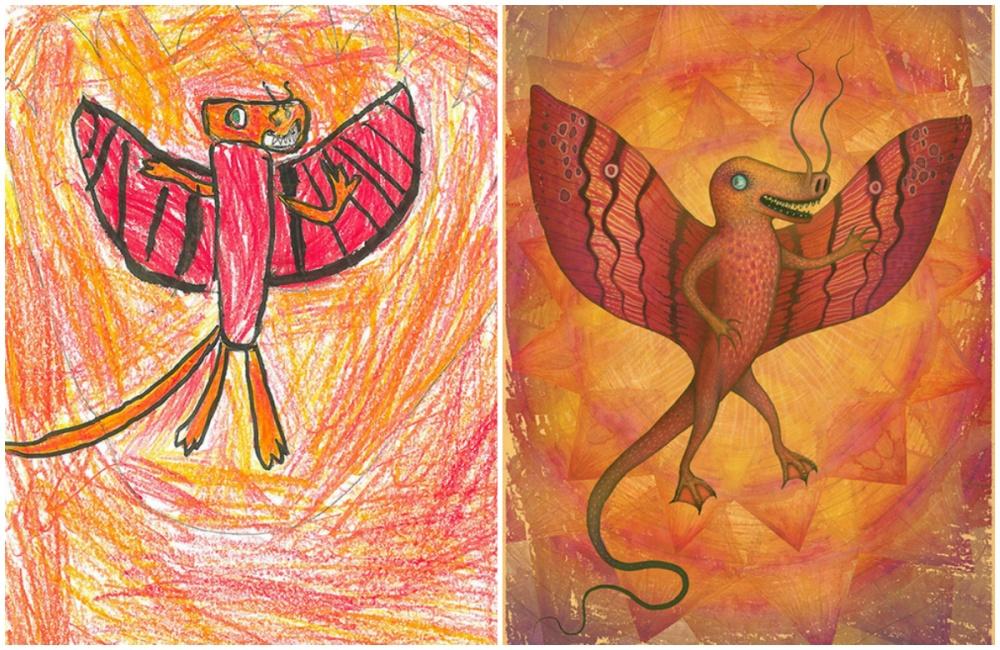 Художники совсего мира вдохнули жизнь вдетские рисунки