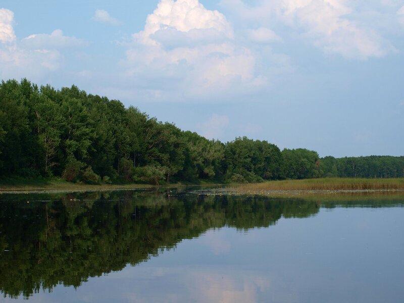 Пейзаж протоки Куприхи