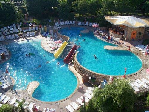 Аквапарки и «водни пързалки» (аквагорки) в Болгарии