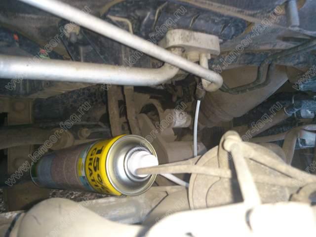 Чистка кондиционера Lancer 9