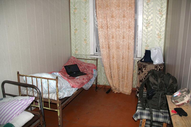 комната в общежитии рыбзавода