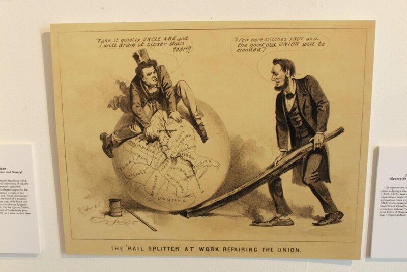 Карикатура США