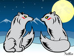 Песец и Хаски