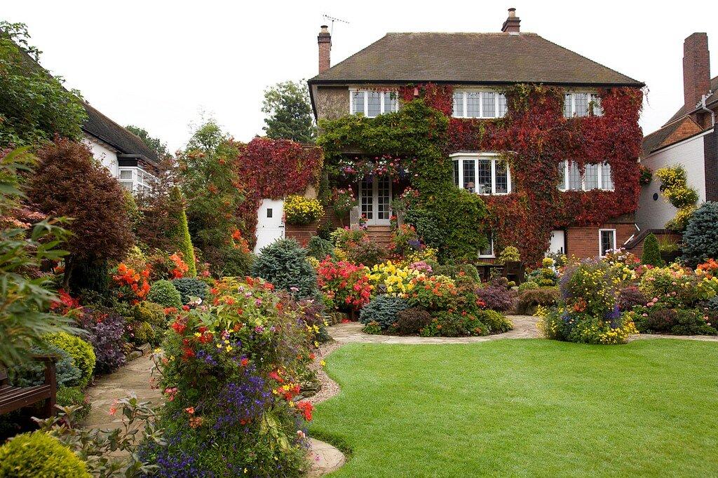 Сады великобритании