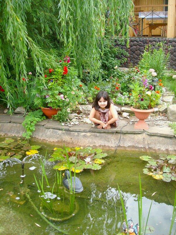 Лето в райском садике с.Остров, у прудика