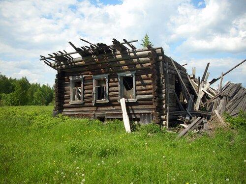 Русские люди оставили свои деревни умирать, Кировская область, Шабалинский район