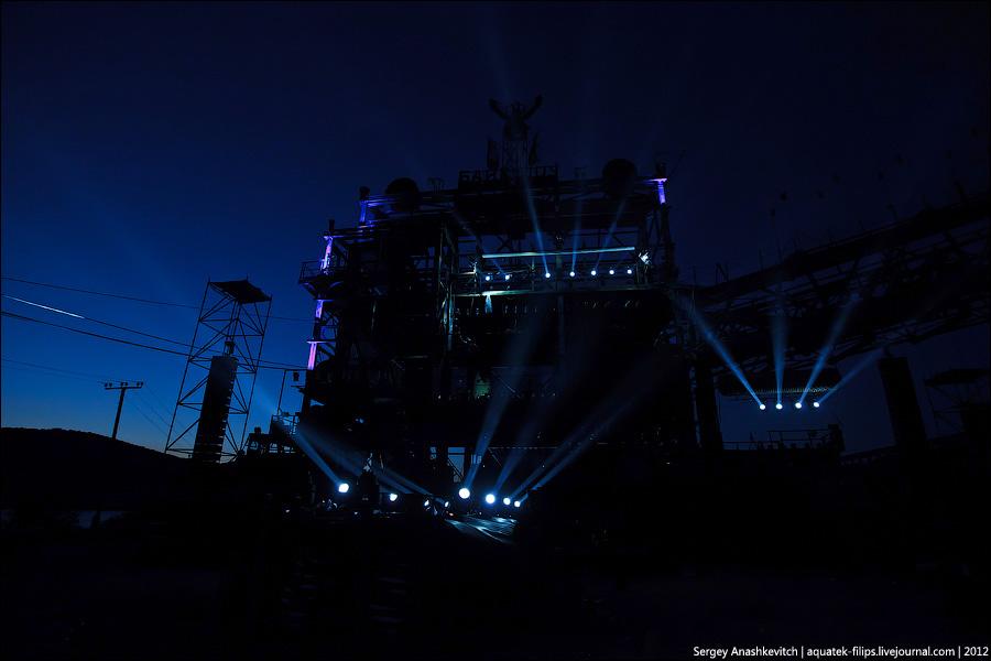 Подготовка к байк-шоу 2012