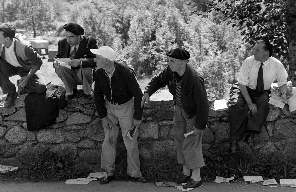 Тур де Франс-1953: раритетные фотографии журнала LIFE