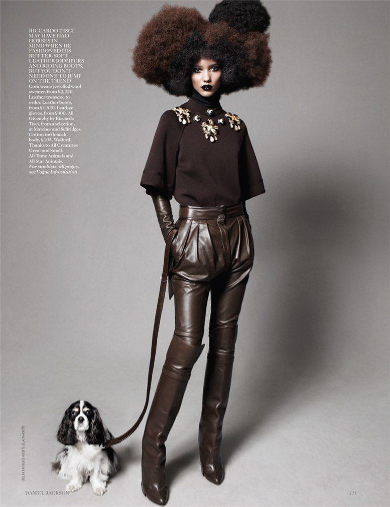 Best In Show - Cora Emmanuel / Кора Эммануэль, фотограф Daniel Jackson в журнале Vogue UK, август 2012