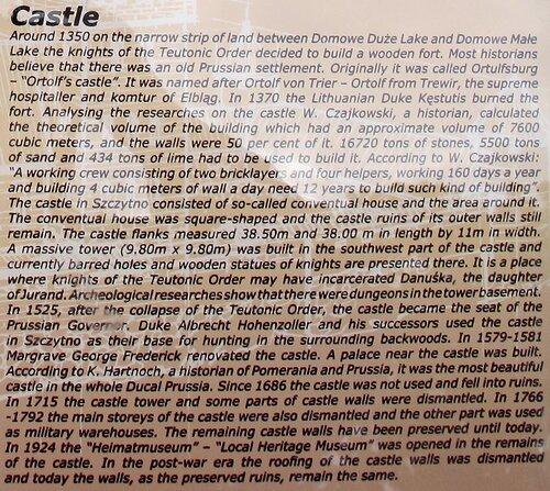 о замке на английском