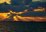 Осенний вечер на Черном море