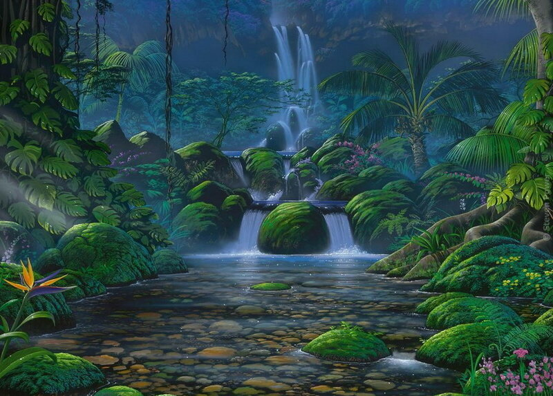 Рисование Пейзажи