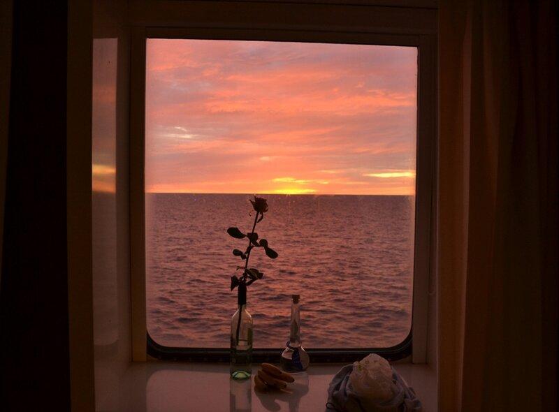 День в море