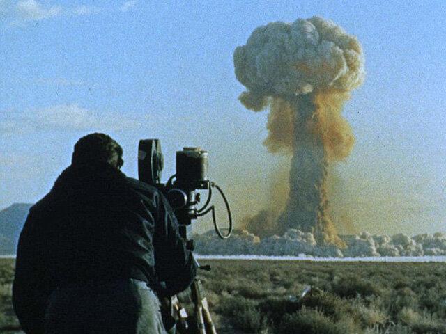 Уникальное видео ядерных испытаний в Неваде