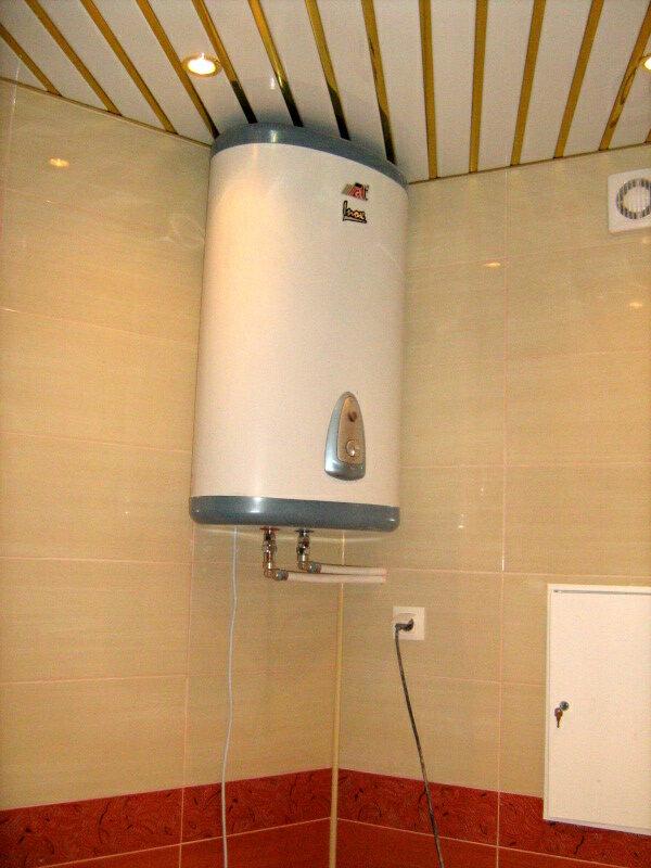 Электрические водонагреватели накопительные установка