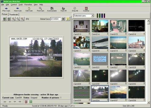 просмотр веб камер