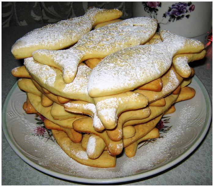 сметаноое печенье фото рецепт