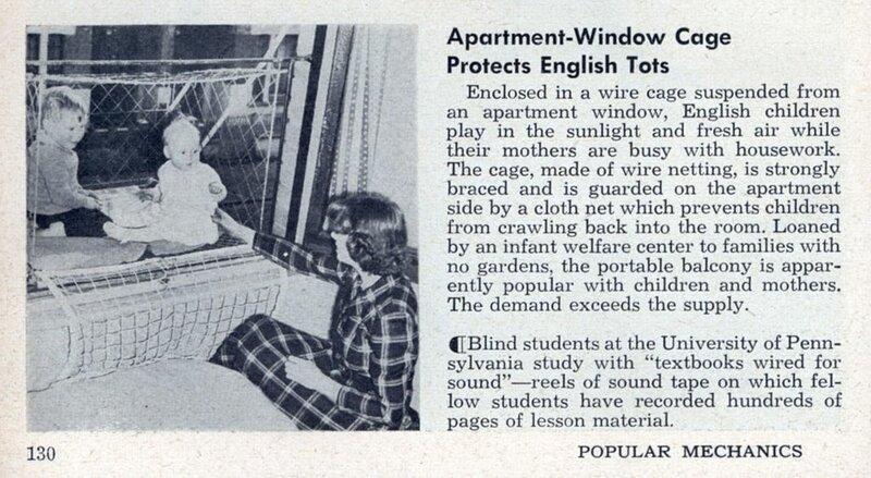 Клетка для детей (Baby Cage window crib)
