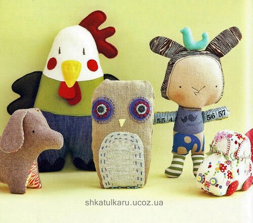 Простые маленькие игрушки