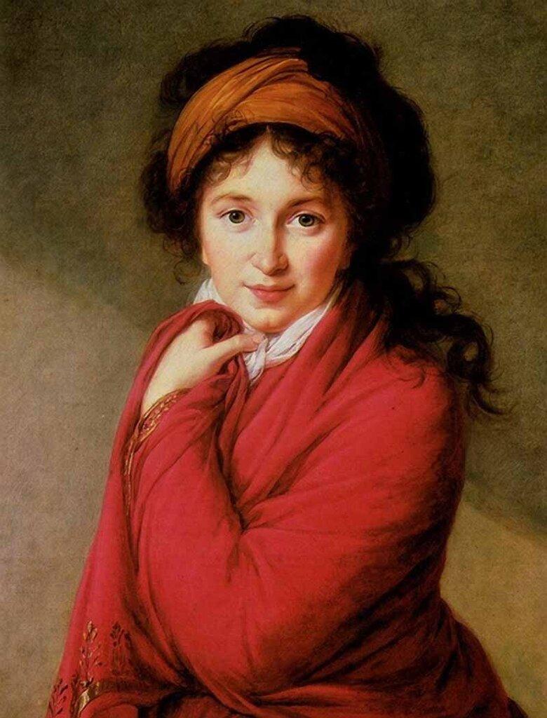 Портрет графини Варвары Головиной, 1798.Виже-Лебрён, Мари Элизабет Луиза(1755-1842)