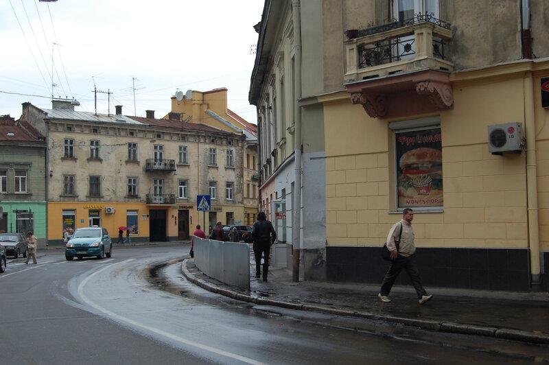 Начало улицы Зелёной