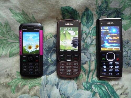 Nokia 5310, 6303i и X2-00