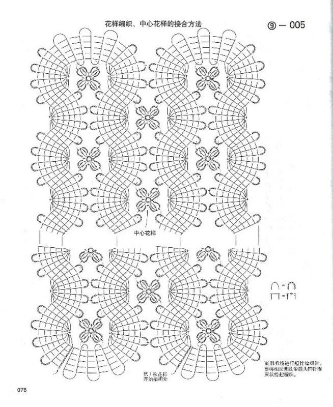 Вязание бюргерского кружева 76