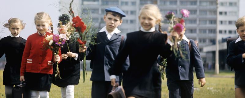 В школу. 1970-е