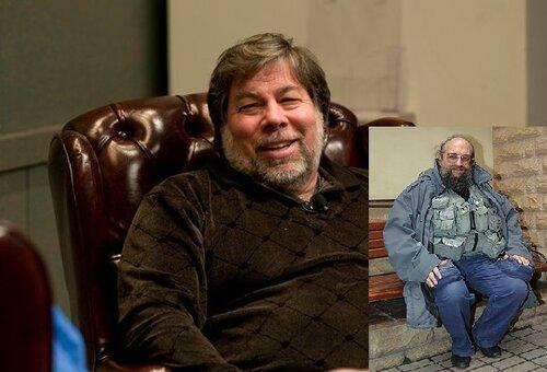 Рюкзак Стива Возняка vs жилетка Вассермана.У кого круче?