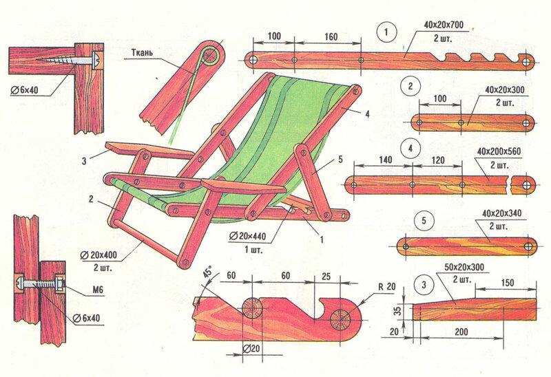 Кресло на трубчатом каркасе изготовляют из водопроводной трубы (следует выбрать диаметр трубы ¾ дюйма)...