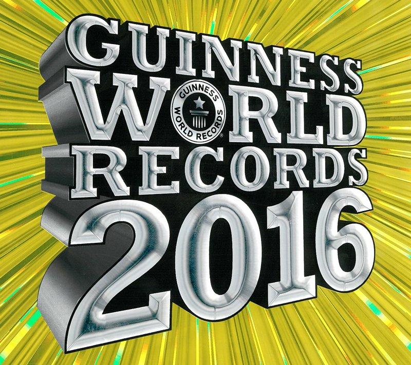 Удивительные рекорды Книги рекордов Гиннесса 2016