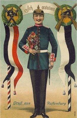 Открытка из прусского Растенбурга