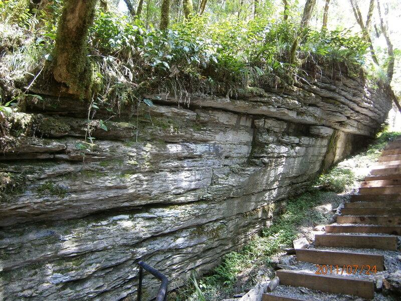 Расщелина в миллион лет