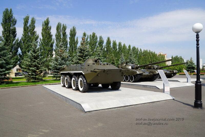БТР-70, Парк Победы, Казань