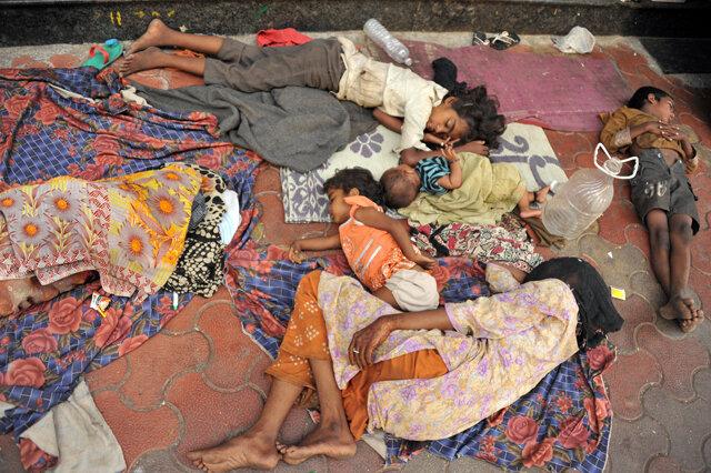 Секс в трущобах бедных