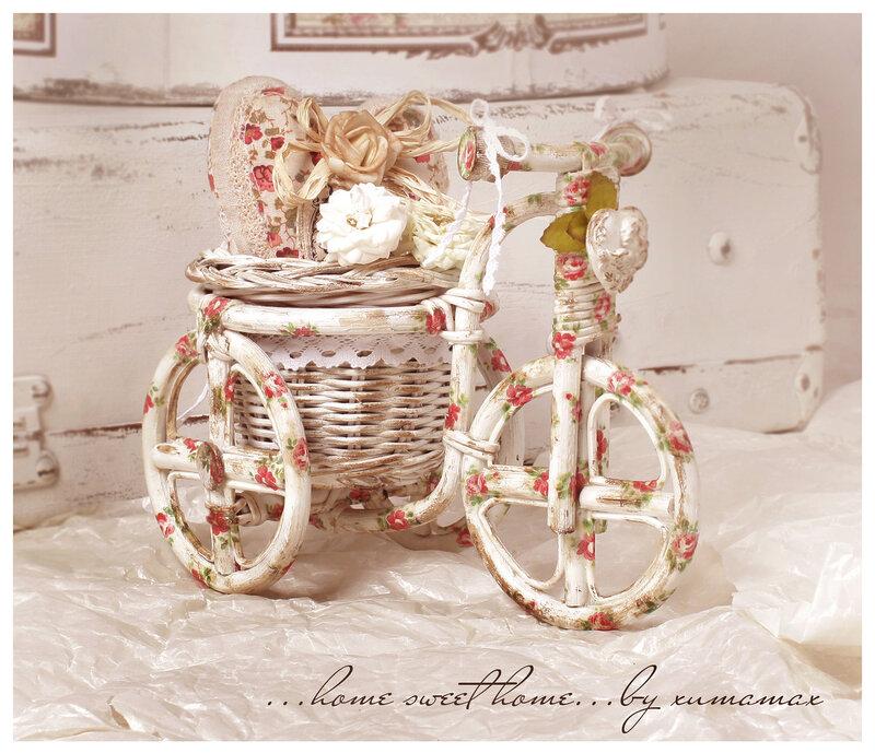 Велосипед кашпо своими руками