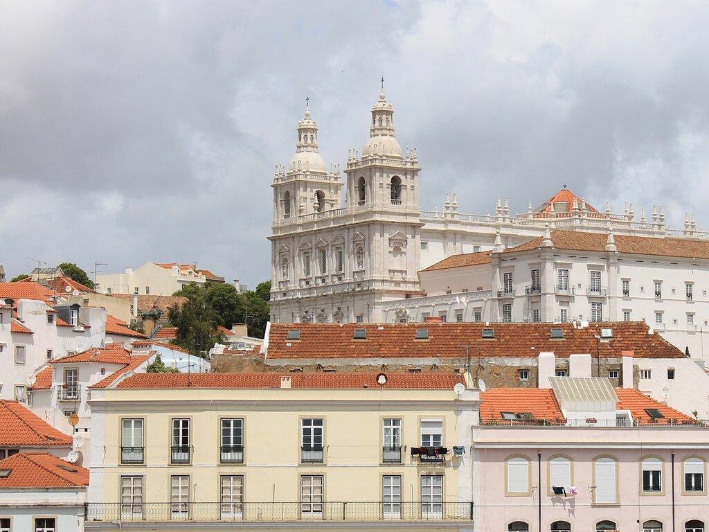 Lisbon. Monastery of San Vicente outside the walls, San Vicente de fora (Mosteiro de São Vicente de Fora)