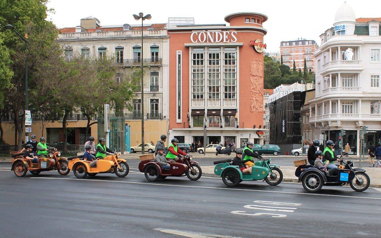 Лиссабон. Площадь Реставраторов (Praça dos Restauradores)