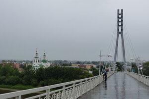 Достопримечательности Тюмени: Мост влюбленных