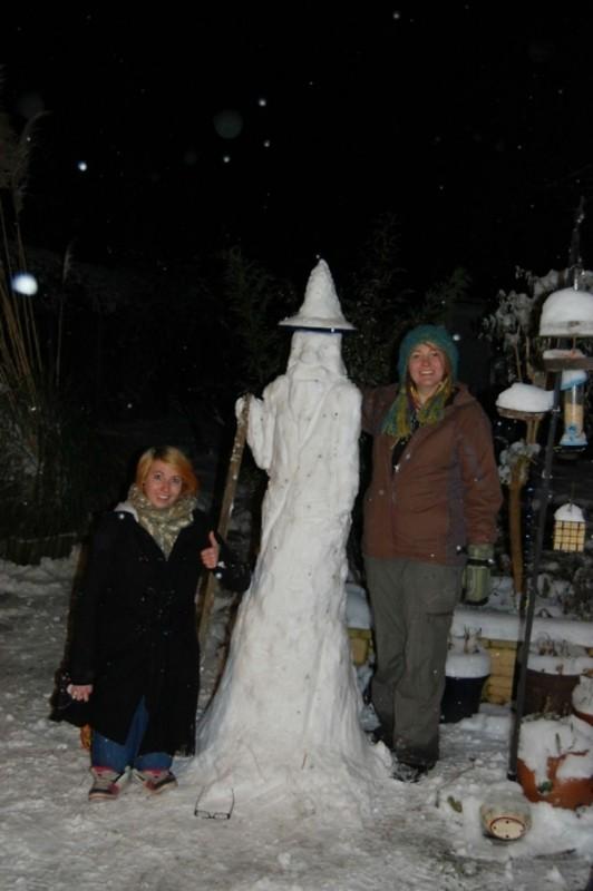 Снежный Гэндальф.