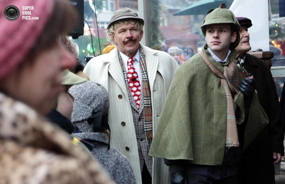 Рижане отпраздновали «день рождения» Шерлока Холмса
